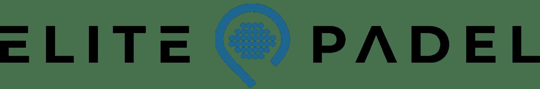 Elitepadel logotyp svart