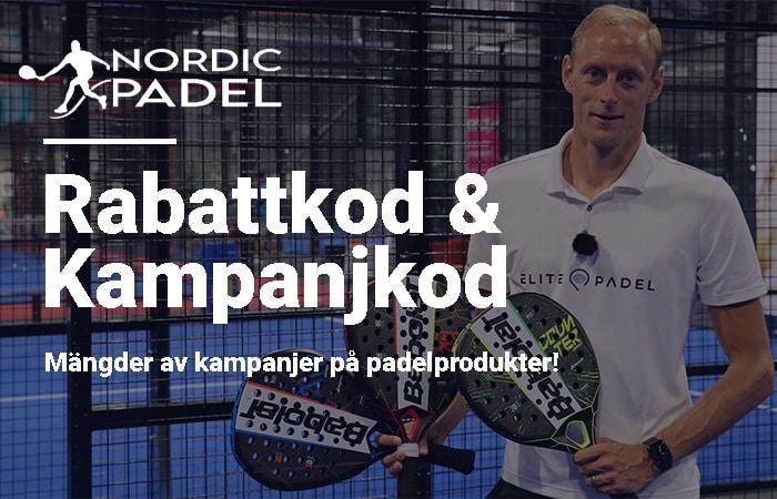 Nordic Padel rabattkod och kampanjkod