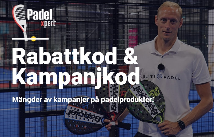 PadelXpert rabattkod och kampanjkod
