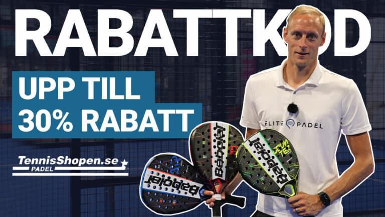 Tennisshoppen rabattkod och kampanjkod